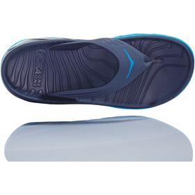 Hoka One One Ora Recovery Flip-flopit Miehet, ebony/dresden blue